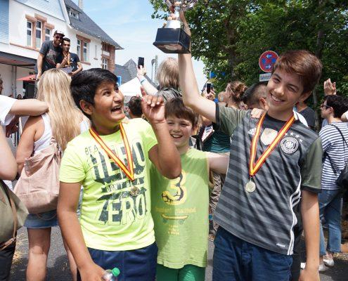Sieger des Seifenkistenrennen
